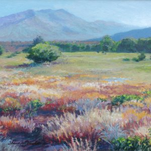 landscape painting of a prairie, Taos, NM by Shane McDonald-Thumbnail Image